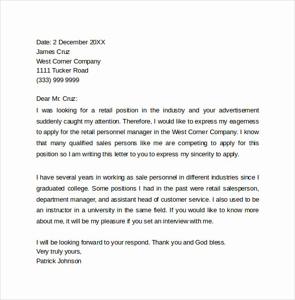Cover Letter for Retail Job New Good Retail Cover Letter Writingfixya Web Fc2