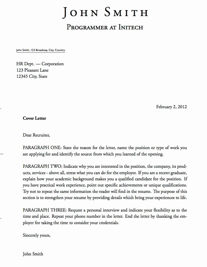 Cover Letter format Word Luxury Writing Hard Copy and E Mail Cover Letters