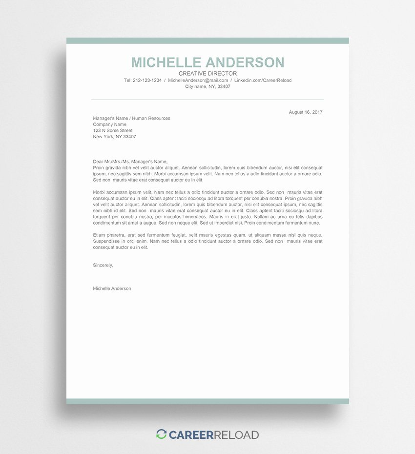 Cover Letter In Word Unique Download Free Resume Templates Free Resources for Job