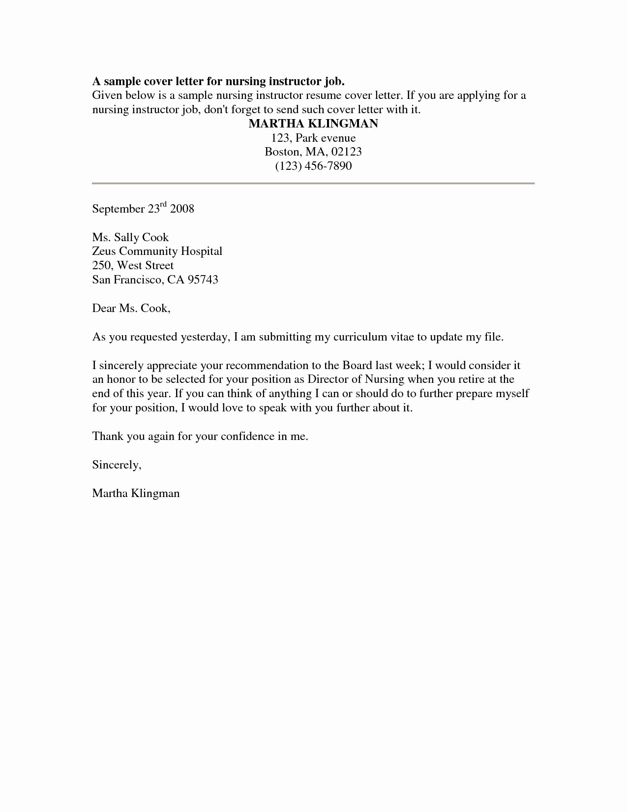 Cover Letter Nursing Student Best Of Nursing Student Resume Cover Letter