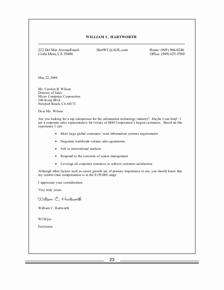 Cover Letter with Salary History Unique Job Cover Letter with Salary History