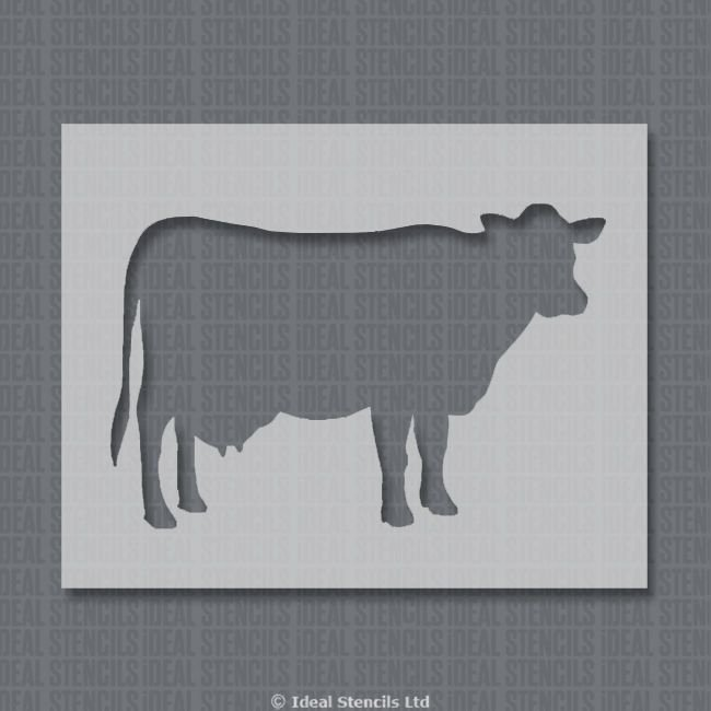 Cow Cut Out Template Beautiful Cow Stencil Home Decor & Craft Templates