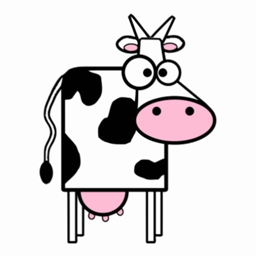 Cow Cut Out Template Elegant Cartoon Cow Cut Out