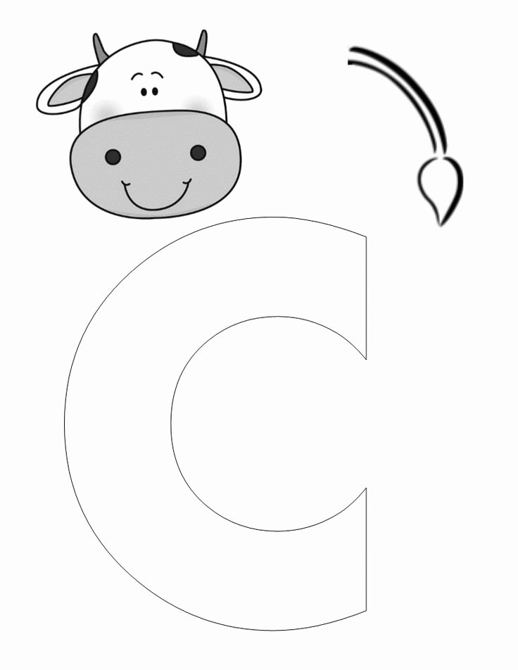 Cow Cut Out Template Inspirational 17 Best Images About Farm Animals On Pinterest