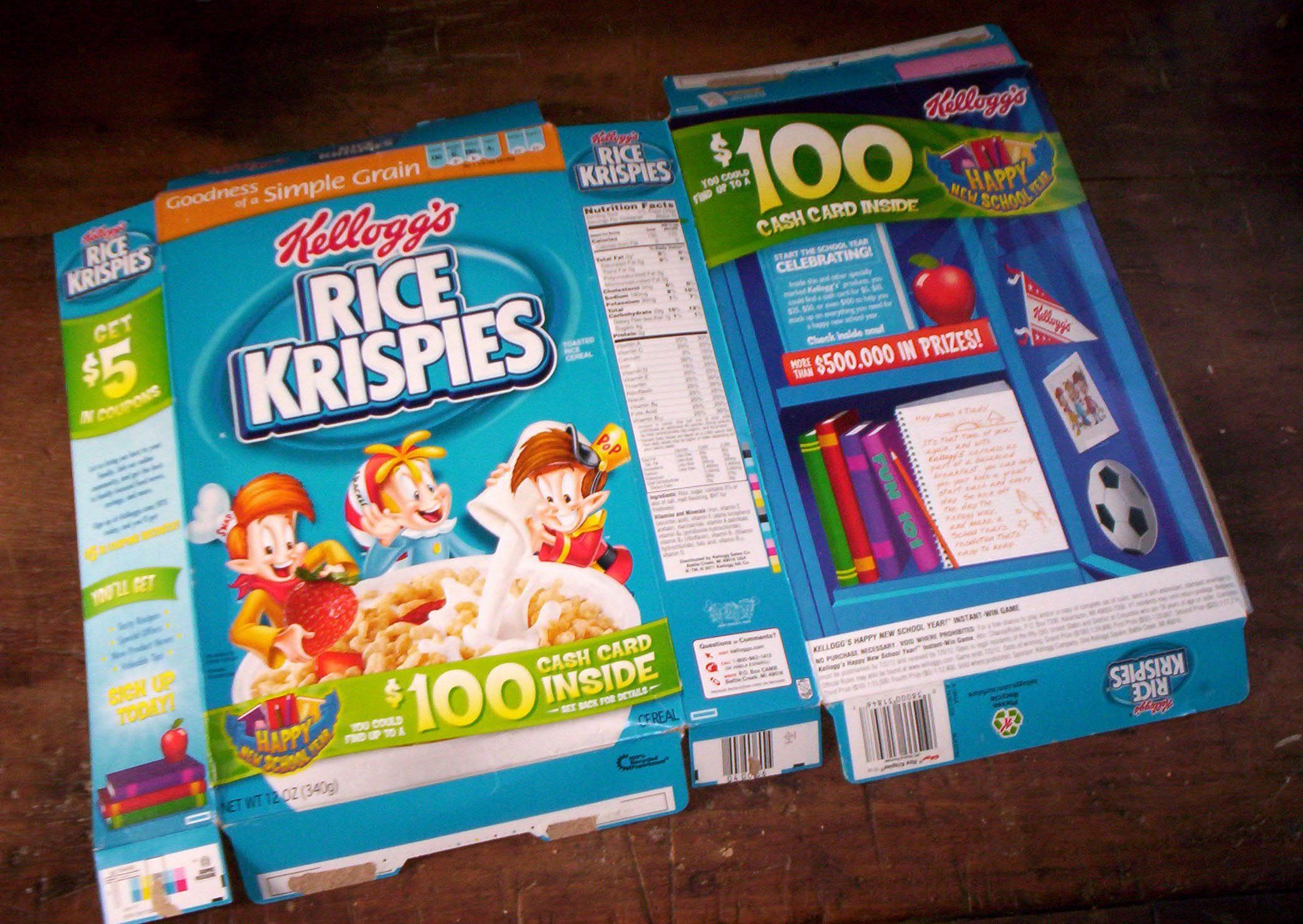 Create A Cereal Box Elegant How to Make A Cereal Box Notepad