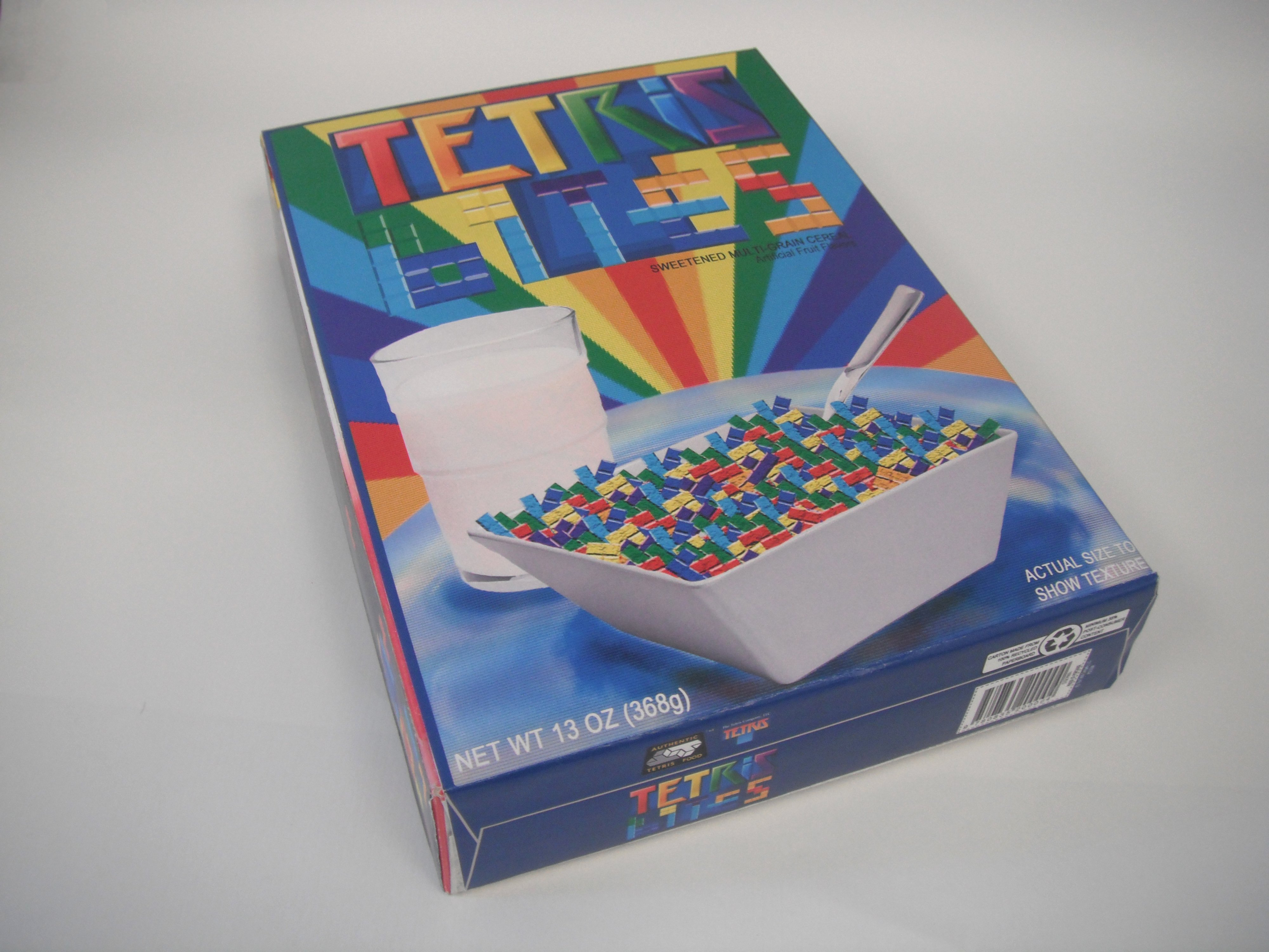 Create A Cereal Box Luxury Tetris Cereal Box