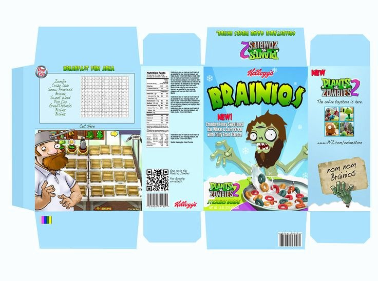 Create A Cereal Box Unique 1000 Images About Cereal Box Design On Pinterest