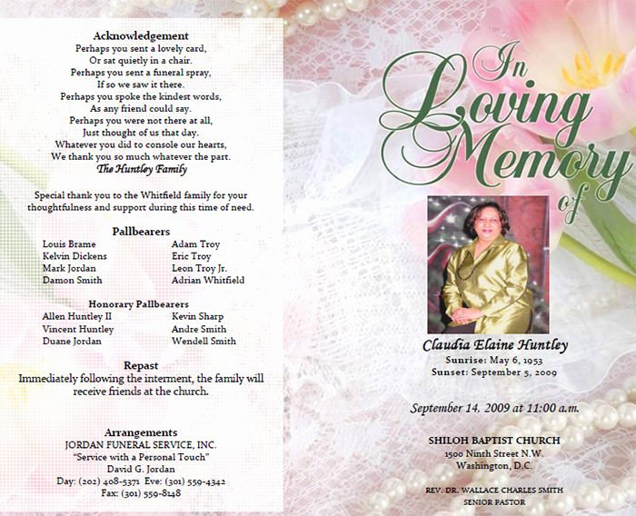 Create An Obituary Online Free Unique 25 Funeral Program Templates Pdf Psd