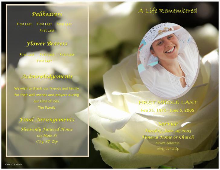 Create Obituary Online Free Beautiful Awesome Funeral Program Ideas Templates