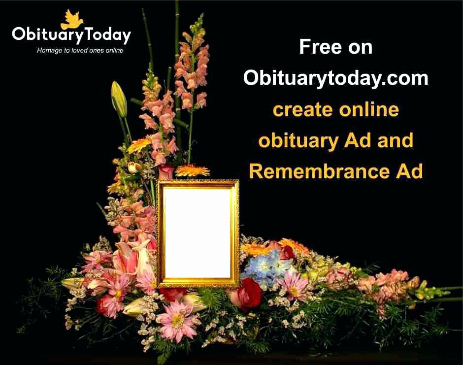 Create Obituary Online Free Beautiful Line Funeral Program Maker Designs Agency Create An