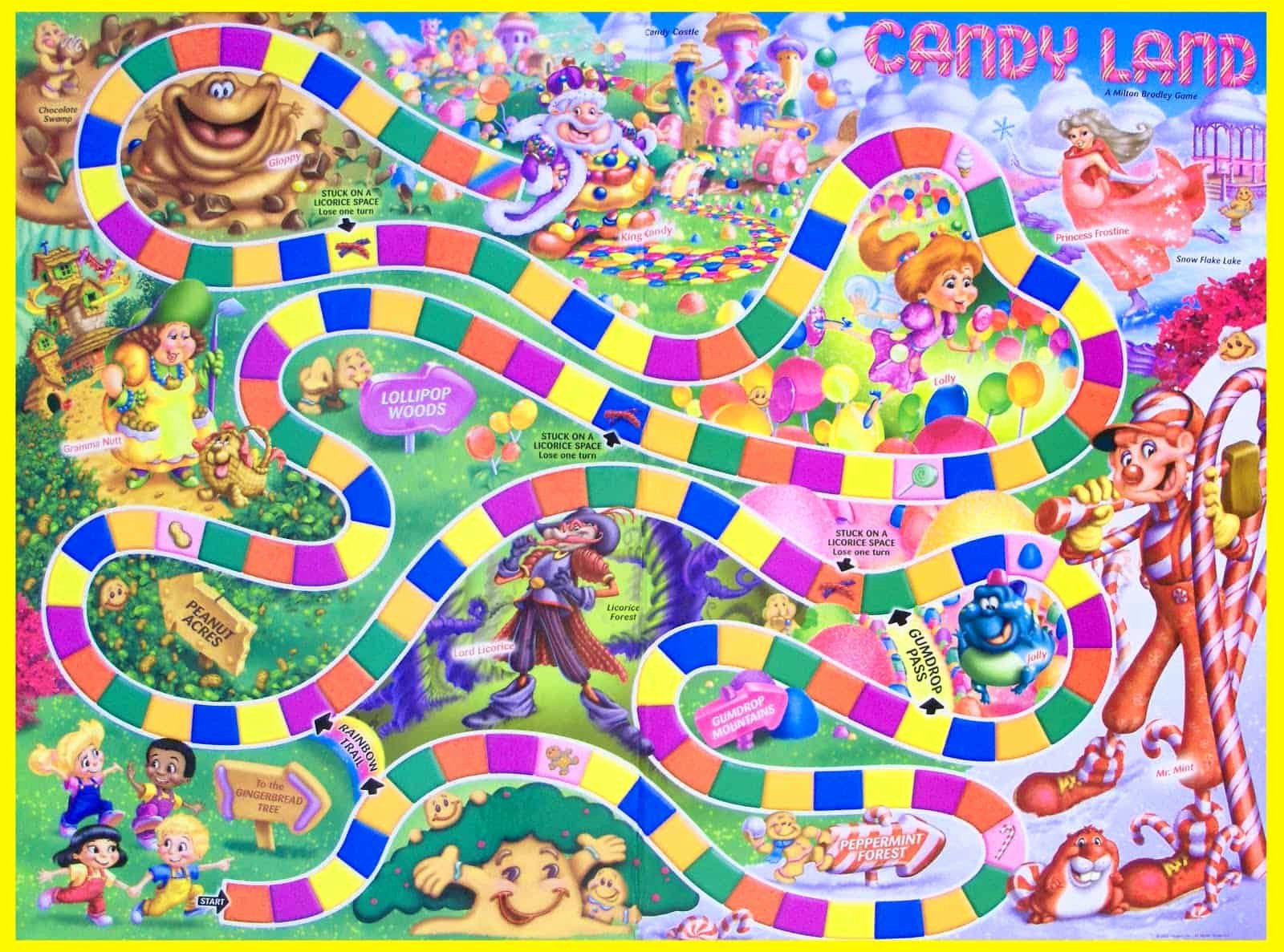 Creating A Board Game Template Elegant How to Create A Life Size Candy Land Game Summer Camp
