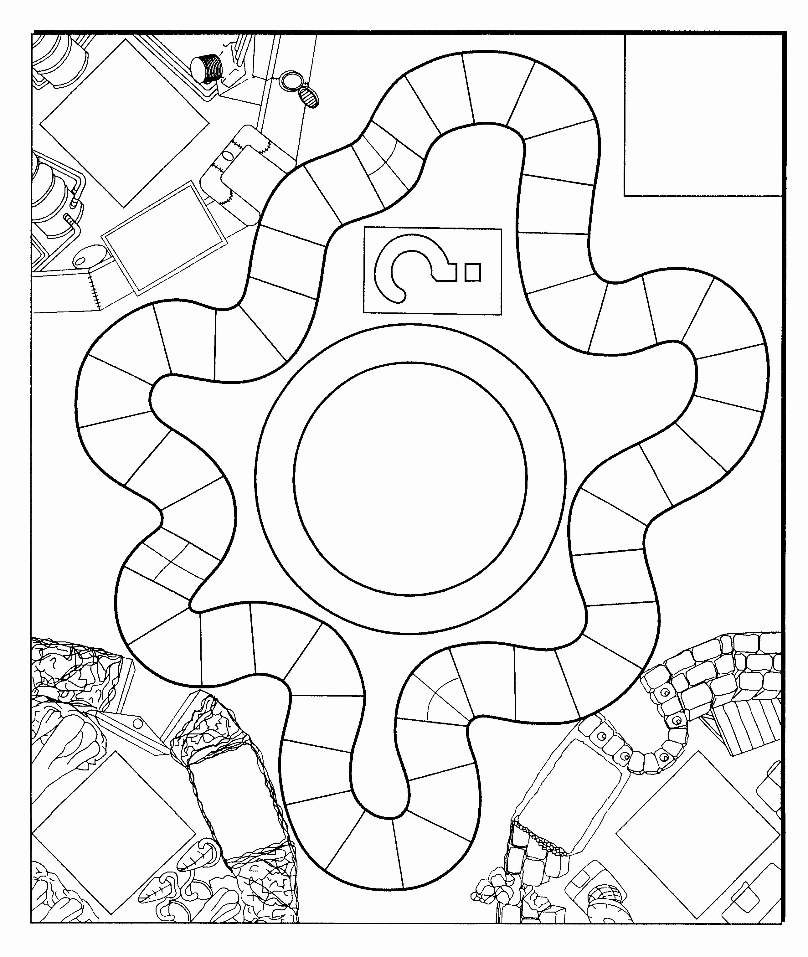 Creating A Board Game Template Fresh Blank Board Game Template for Zathura