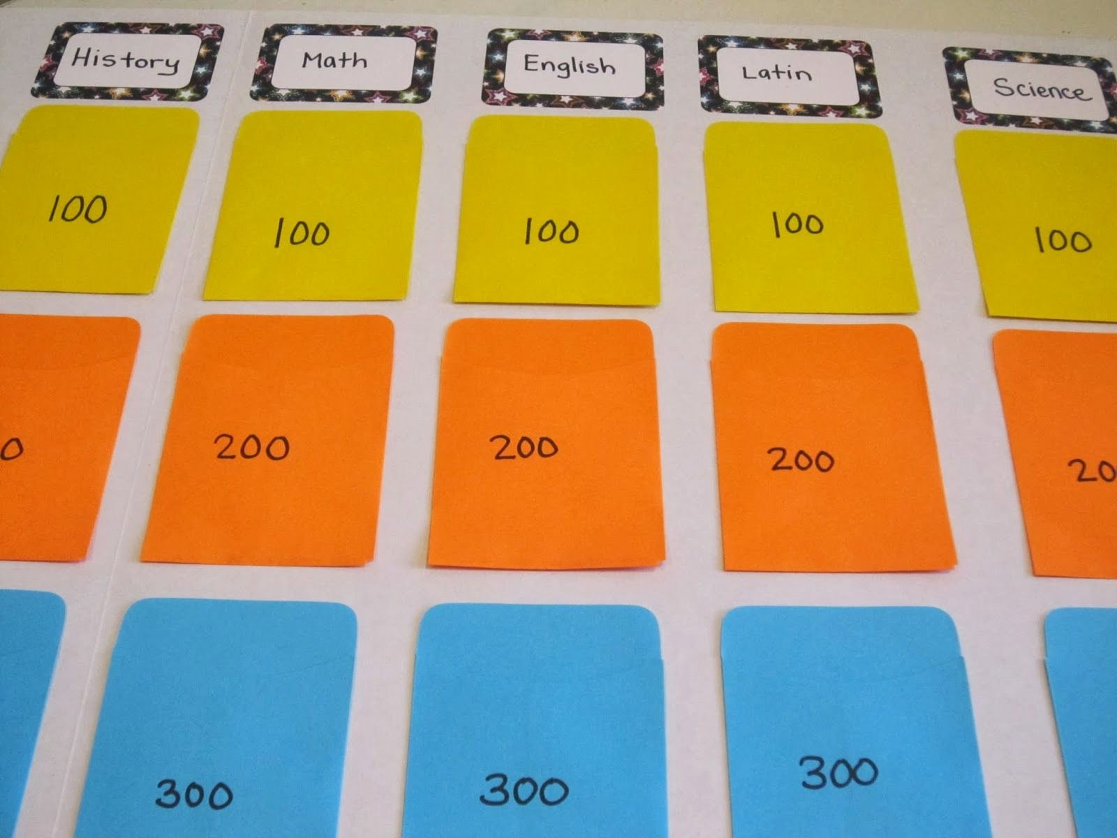 Creating A Board Game Template Inspirational Diy Jeopardy Board Diy Jeopardy Board