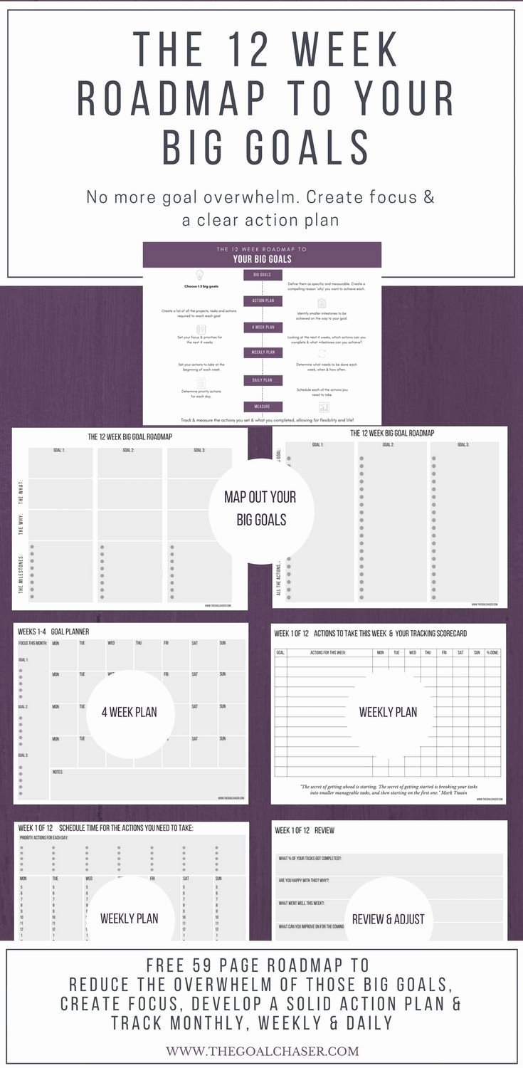 Creating A Life Plan Worksheet Best Of the 12 Week Goal Setting Worksheets