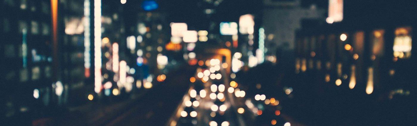 Creative Linkedin Background Photo Elegant Blurred City Skyline