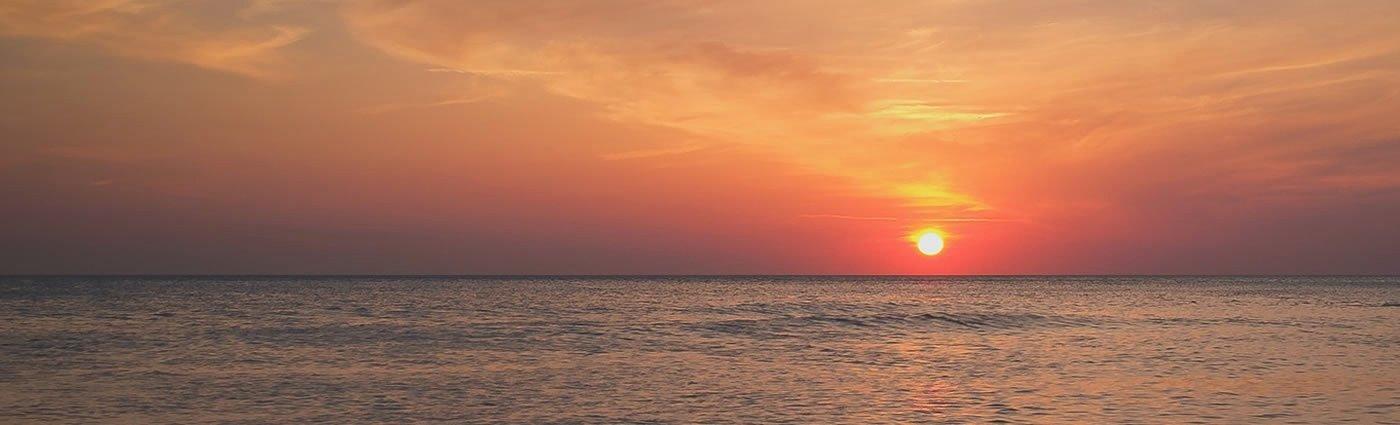 Creative Linkedin Background Photo Fresh Ocean Sunset