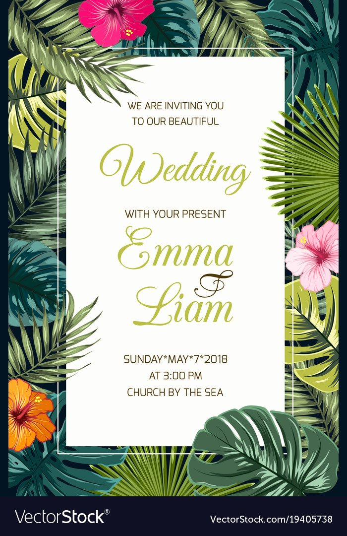 Credit Card Invitation Template Lovely Wedding event Invitation Card Template Royalty Free Vector