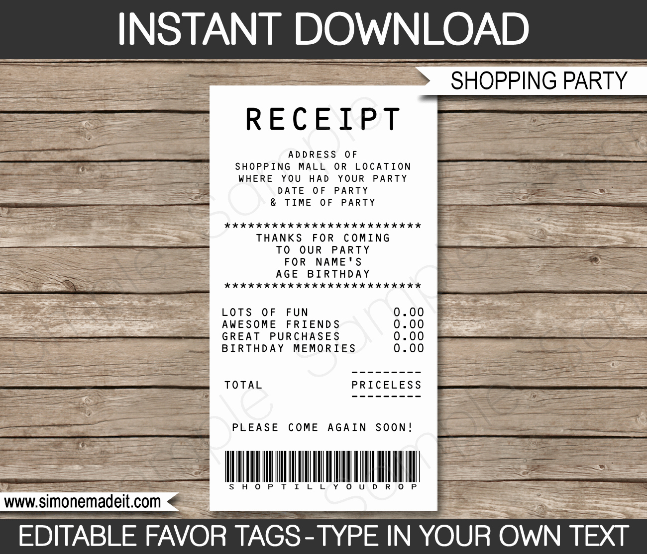 Credit Card Invitation Template New Credit Card Invitation