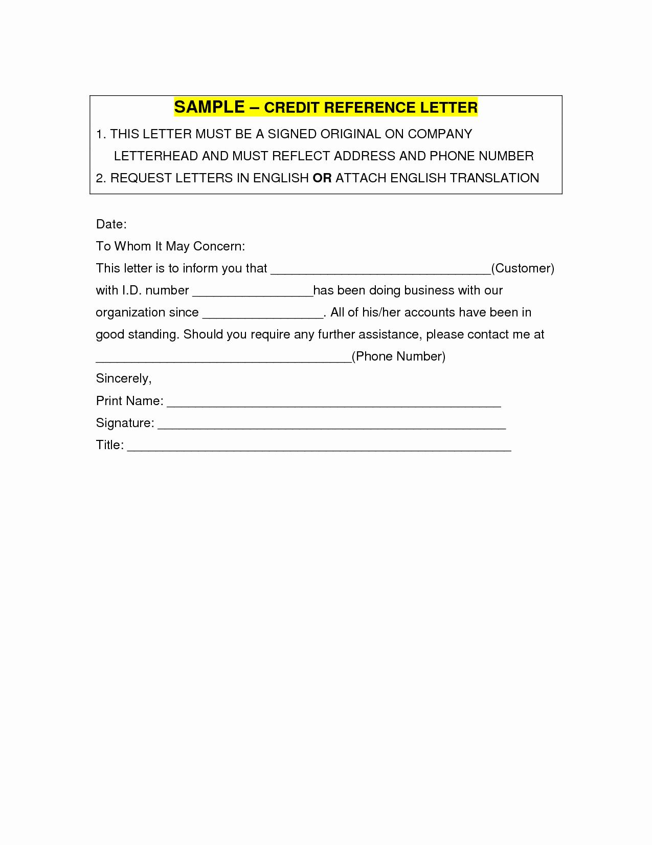 Credit Reference Sheet Template Beautiful Business Credit Reference Template Free Printable Documents