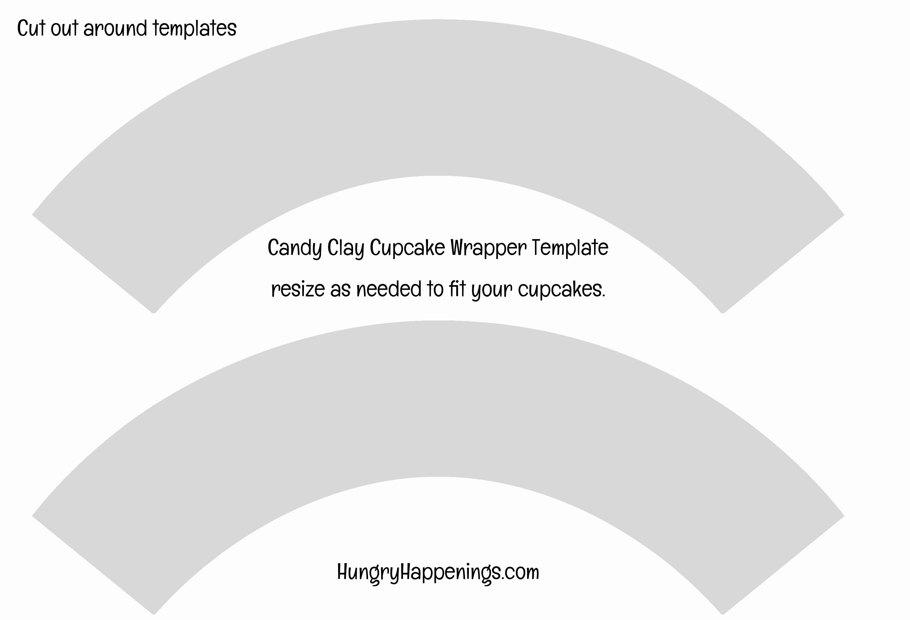 Cupcake Wrapper Template Inspirational Edible Cupcake Wrappers White Chocolate Snowmen Hungry