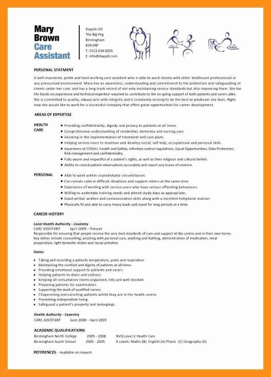 Curriculum Vitae for Nurses Elegant 10 11 Curriculum Vitae Examples for Nurses