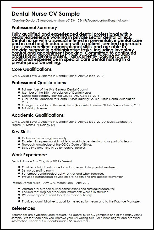 Curriculum Vitae for Nurses Luxury How to Write A Curriculum Vitae for Nurses Registered