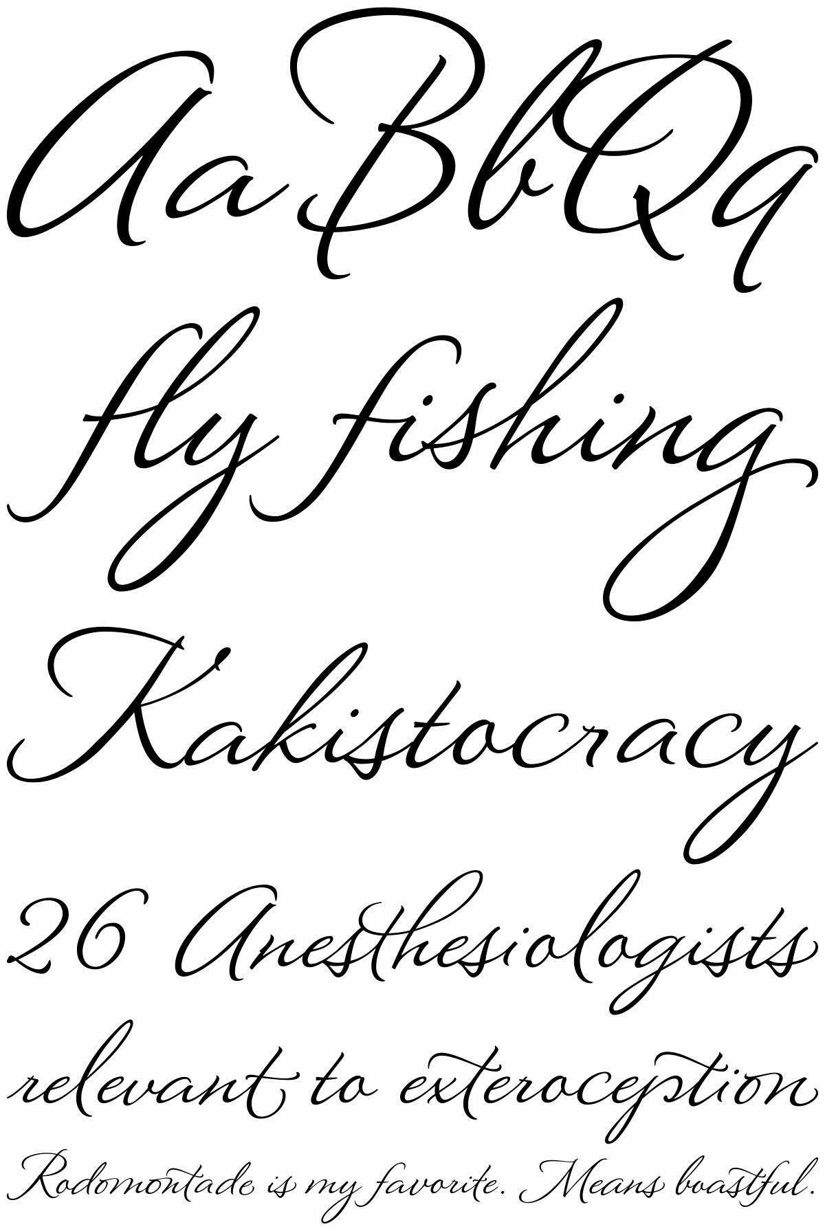 Cursive Font for Mac Elegant A Beautiful Font Montague Script Font Fonthaus