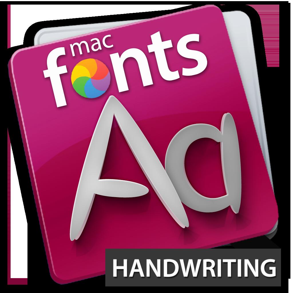 Cursive Font for Mac Elegant Macfonts Handwriting