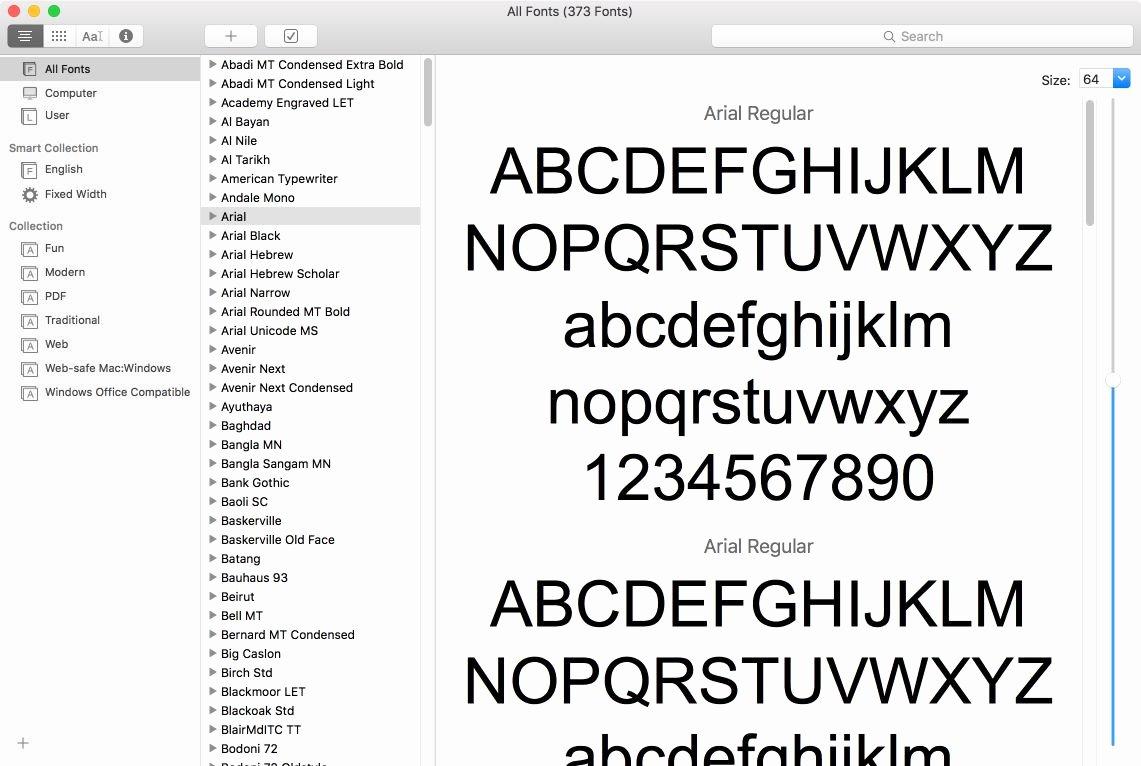 Cursive Font for Mac Unique How to Manage Mac Fonts Using Font Book