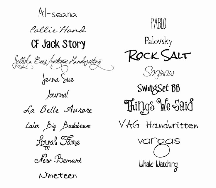 Cursive Handwriting Fonts Free Best Of Best Free Handwriting Fonts for Designers Aptgad
