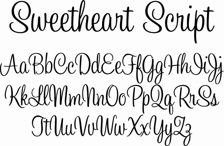 Cursive Handwriting Fonts Free Elegant Honey Script Font
