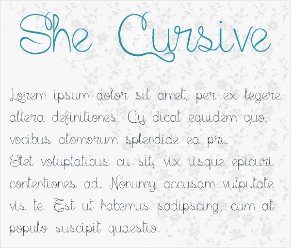 Cursive Handwriting Fonts Free Lovely Cursive Handwriting Font Free Otf Ttf format Download