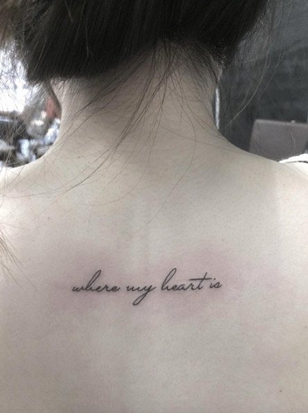 Cursive Handwriting for Tattoos Beautiful 40 Awesome Text & Word Tattoo Designs Tattooblend