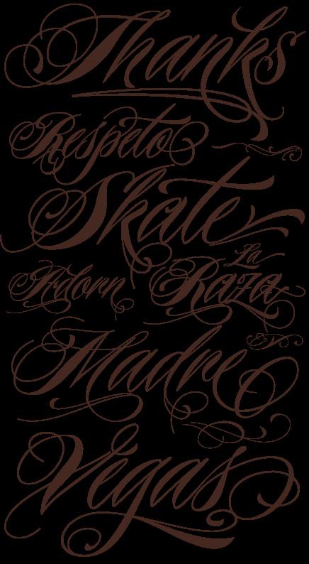 Cursive Handwriting for Tattoos Beautiful Choosing Tattoo Tattoo Font Styles