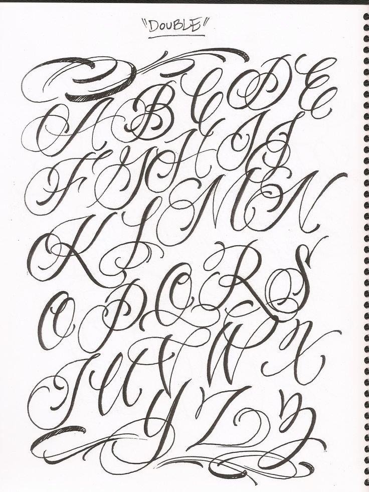 Cursive Handwriting for Tattoos Fresh Letras …