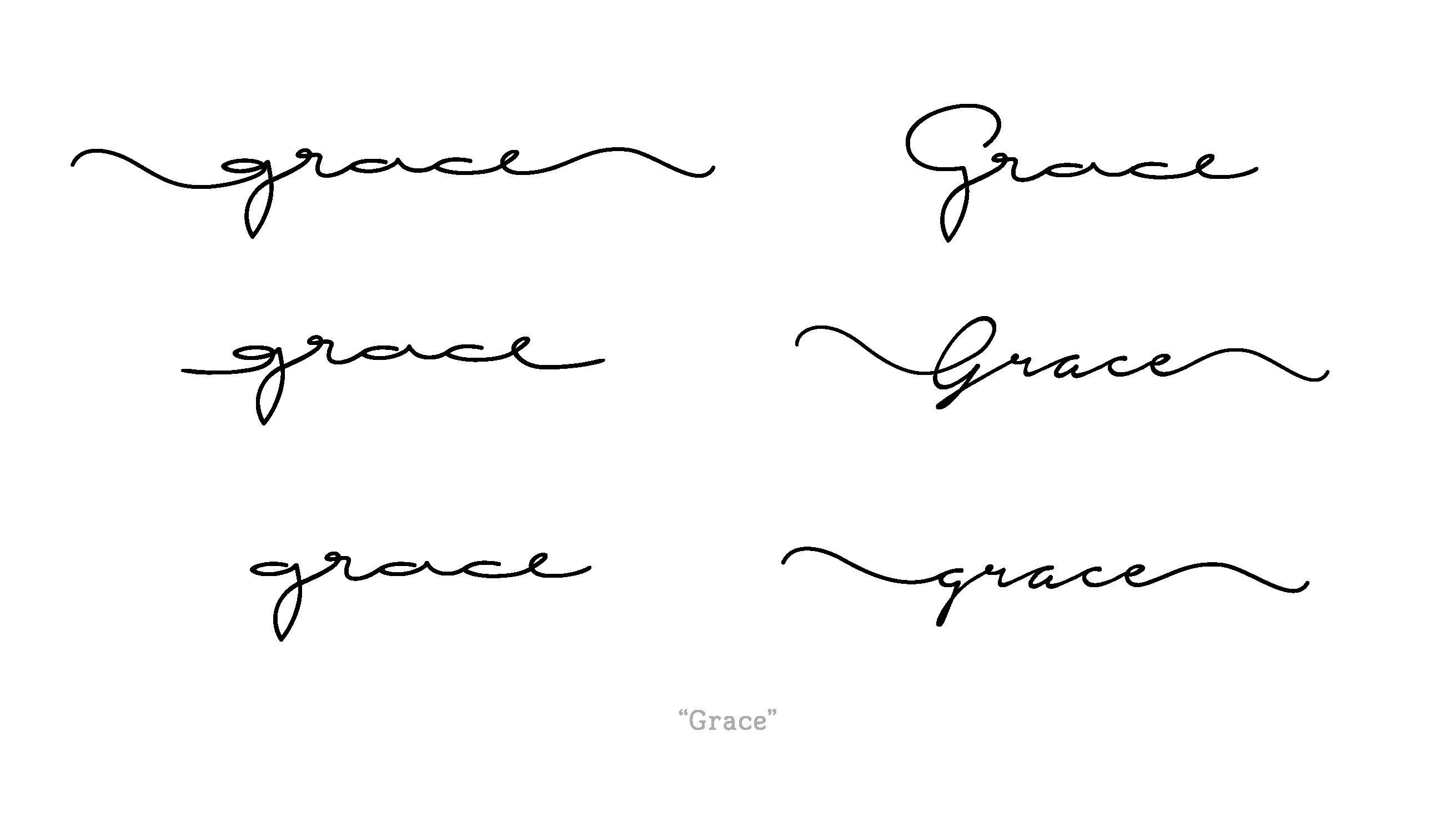 Cursive Handwriting for Tattoos New Custom Request Handwritten Cursive Font Tattoo