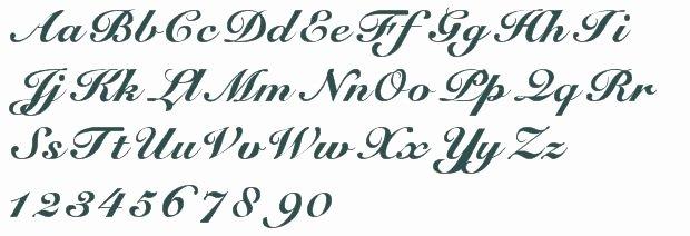Cursive Handwriting for Tattoos New Elegant Script Font Free Truetype