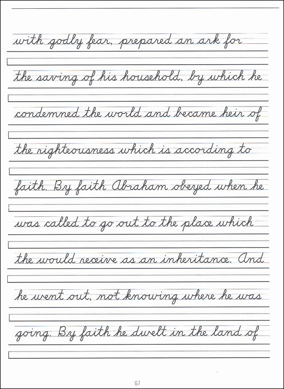 Cursive Handwriting Practice Best Of Scripture Character Writing Worksheets D Nealian Advanced