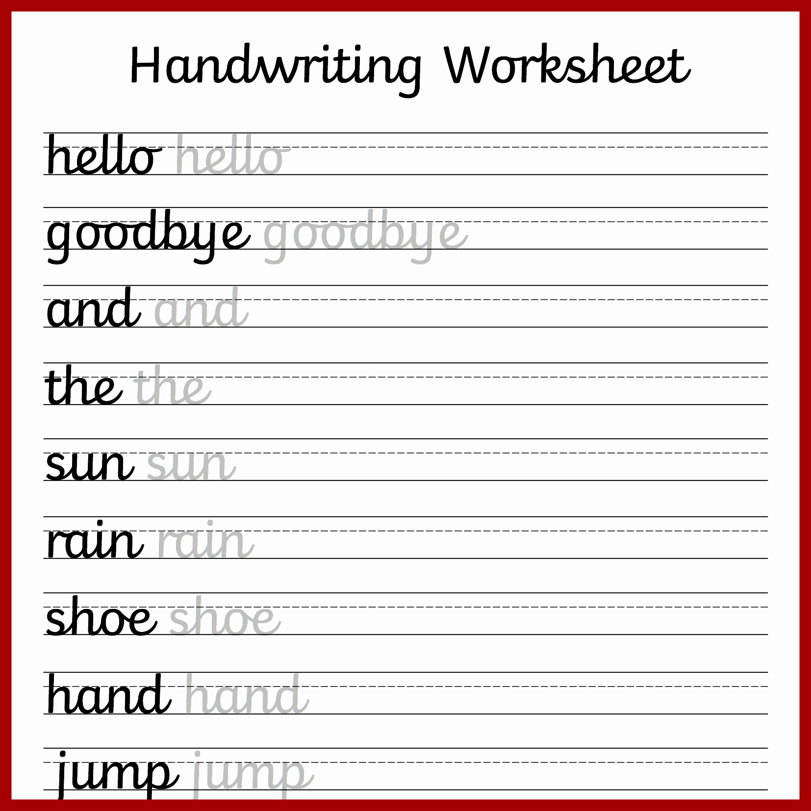 Cursive Handwriting Practice Elegant Cursive Handwriting Worksheets – Free Printable ⋆ Mama Geek