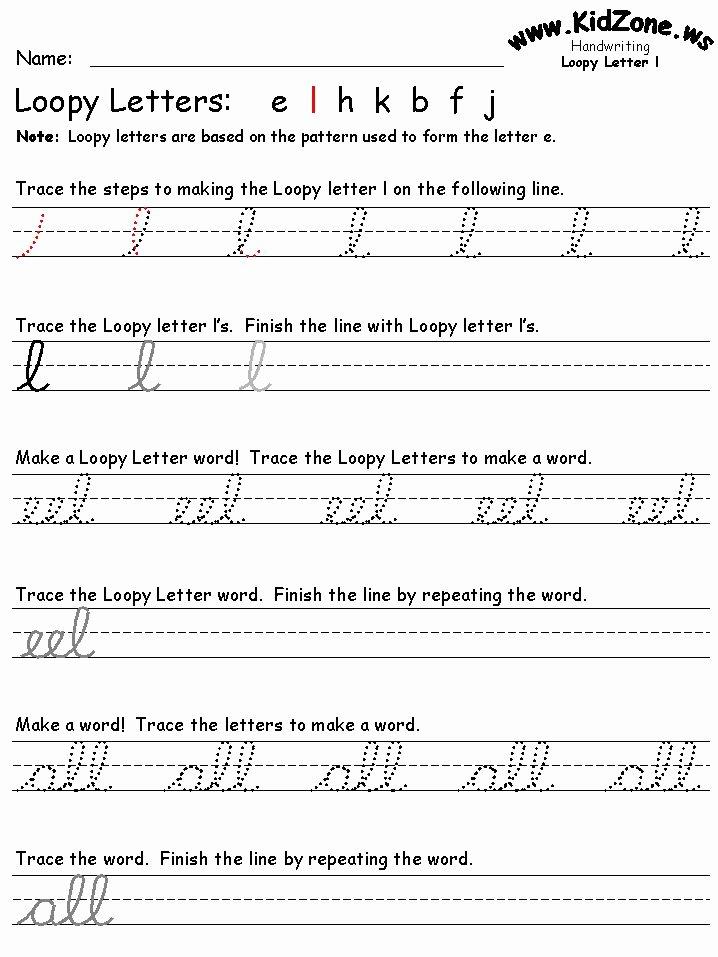 Cursive Handwriting Worksheets Beautiful 27 Best Cursive Writing Worksheets Images On Pinterest