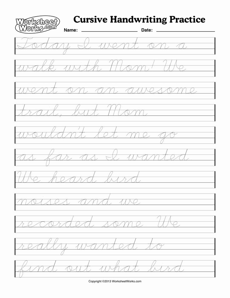 Cursive Handwriting Worksheets Inspirational 19 Best Images About Cursive Handwriting On Pinterest