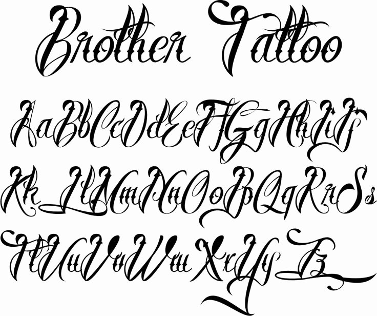 Cursive Letters for Tattoos Inspirational 25 Best Ideas About Tattoo Lettering Styles On Pinterest