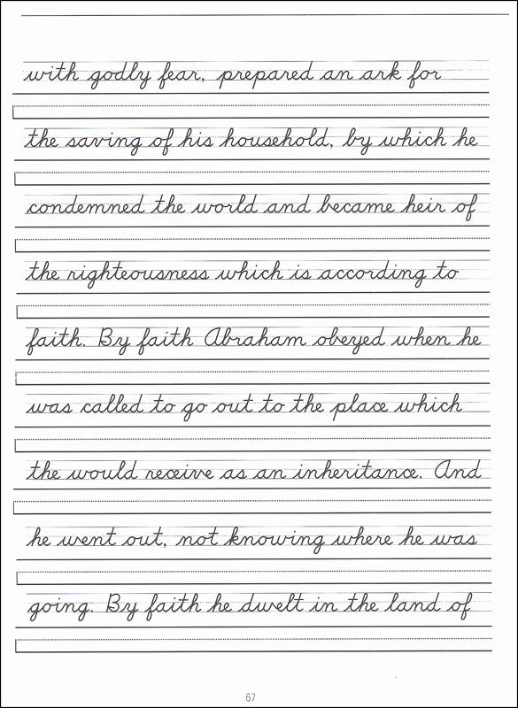 Cursive Writing Practice Sheets Awesome Scripture Character Writing Worksheets D Nealian Advanced