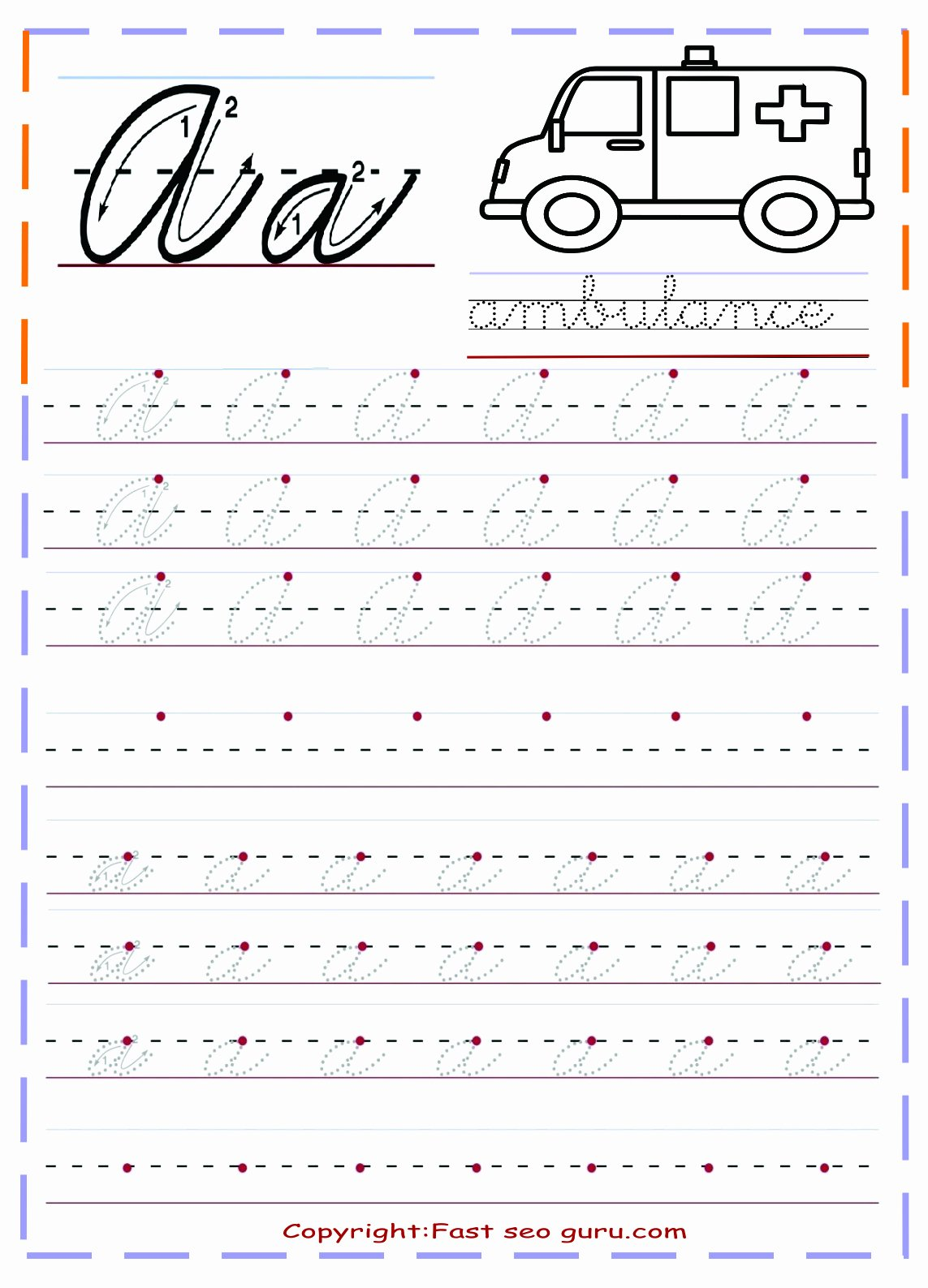 Cursive Writing Practice Sheets Lovely 1000 Ideas About Cursive Handwriting Practice On