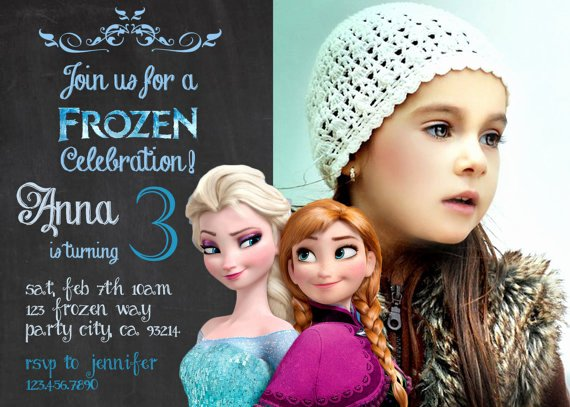 Custom Frozen Birthday Invitations Inspirational Elsa Frozen Birthday Party Invitation Ideas – Bagvania