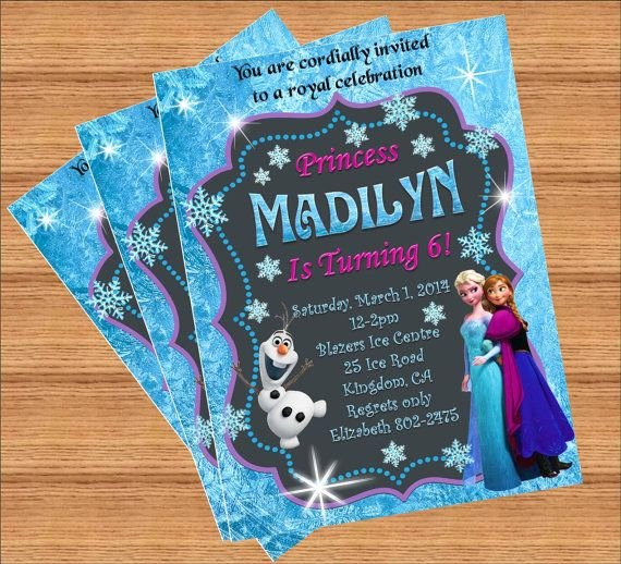 Custom Frozen Birthday Invitations Lovely 17 Best Images About Ideas Disney Frozen Birthday Party