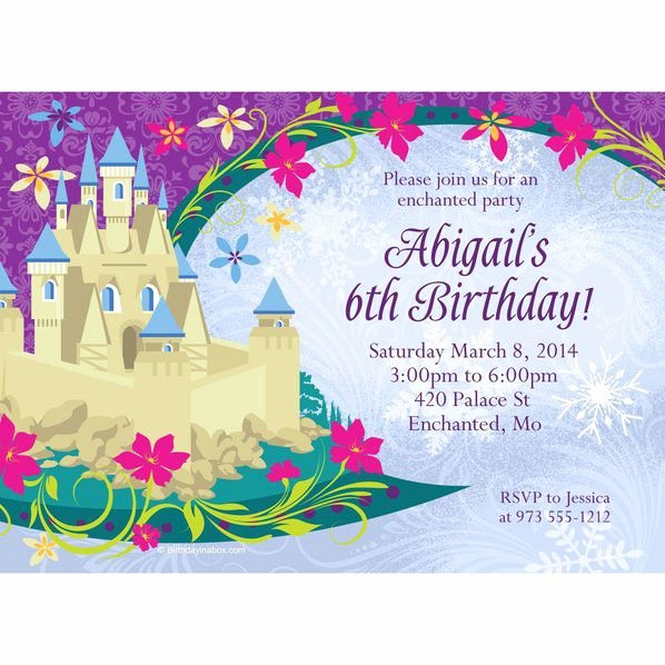 Custom Frozen Birthday Invitations Lovely Frozen Invitation Custom Invitations & Party Supplies