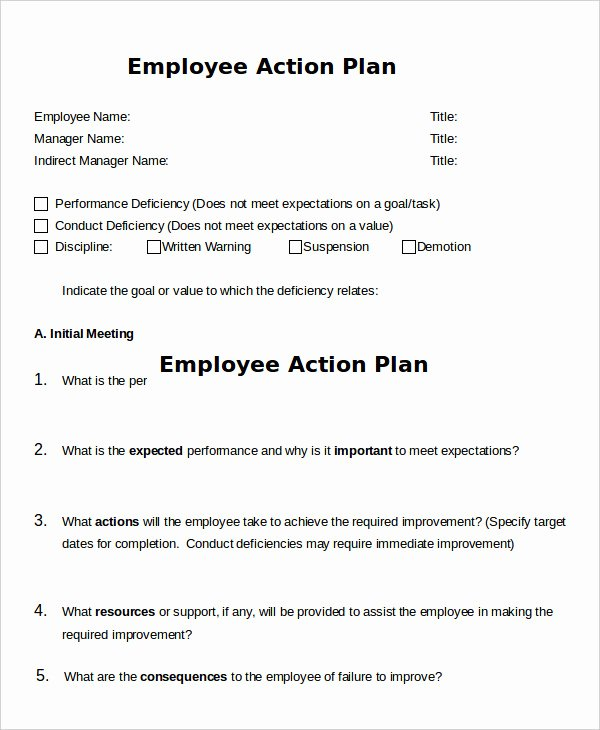 Customer Service Action Plan Examples Awesome Action Plan Template 37 Free Pdf Word format