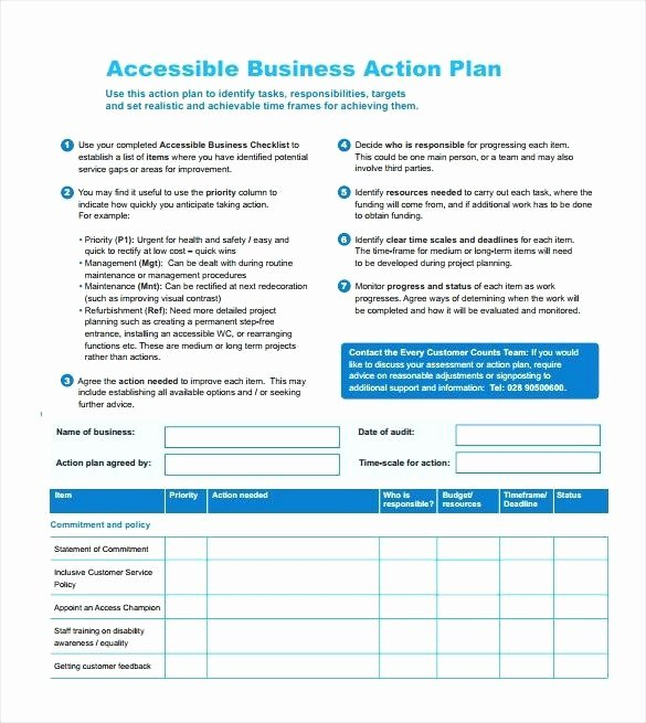 Customer Service Action Plan Examples Awesome Sample Customer Service Action Plan Template