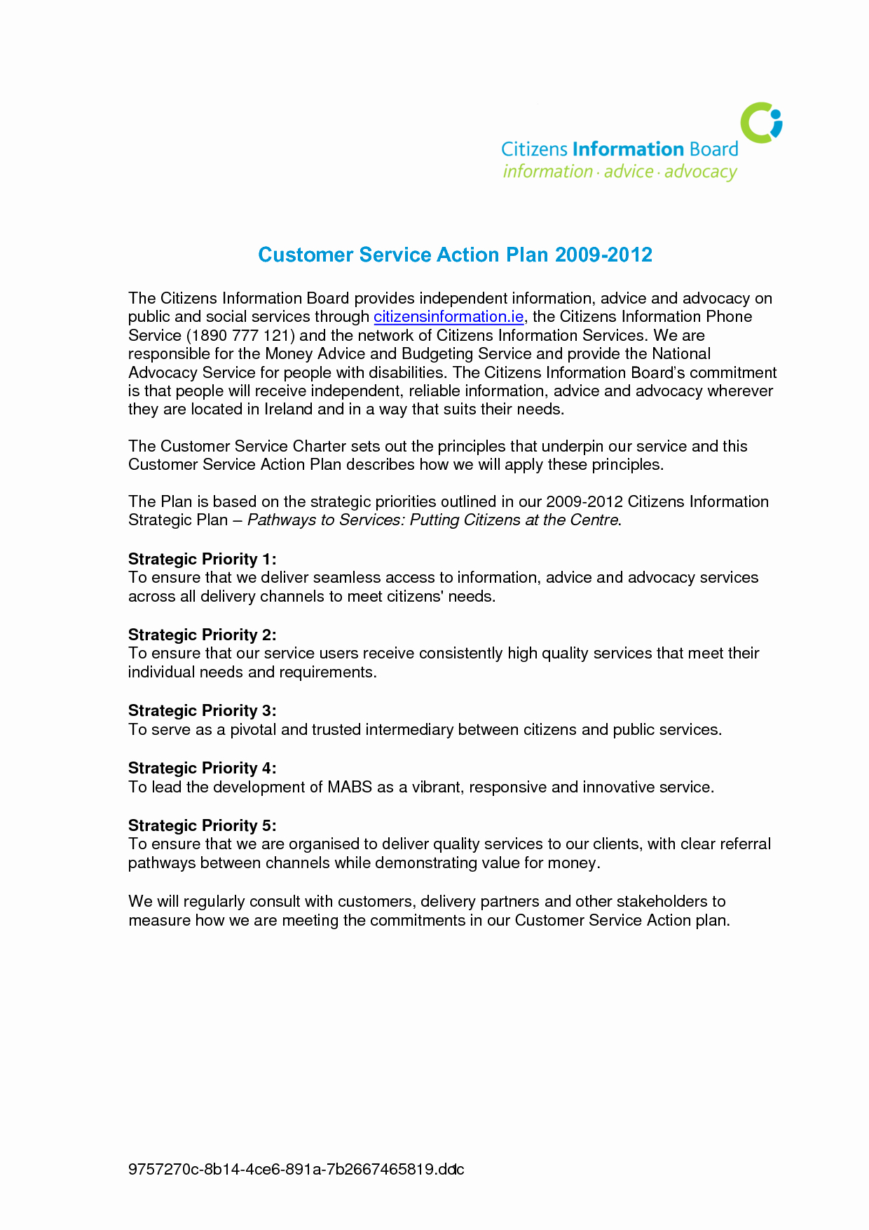 Customer Service Action Plan Examples Fresh Best S Of Written Marketing Plan Examples Sample